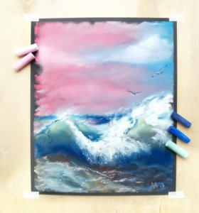 "Картина ""Закат на море"""