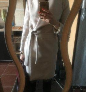 MANGO шерстяное пальто