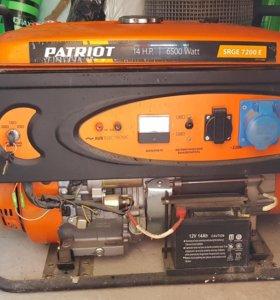Бензиновый электрогенератор Patriot srge 7200 E