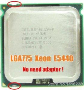 Процессор 775 сокет xeon E5440