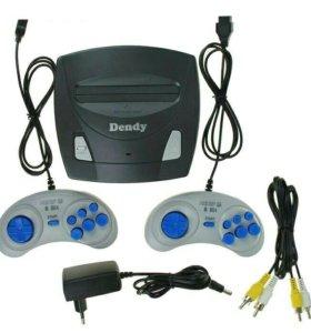 👍Игровые приставки DENDY Master, + 195 игр