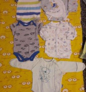 Одежда для новорожденного.