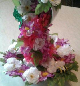 Парящая чашка (цветочная)