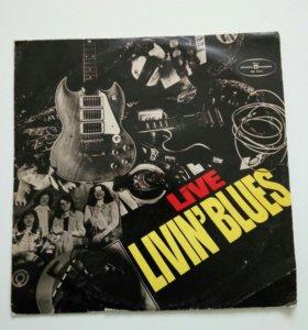 "Виниловая пластинка ""Livin'Blues""."