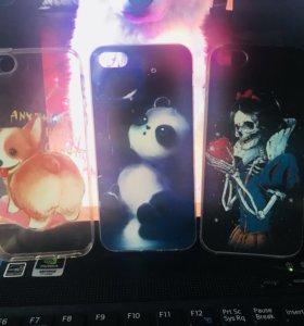Чехлы на iPhone 5, 5s 5e