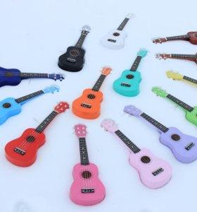 Укулеле сопрано (много цветов) / гавайская гитара