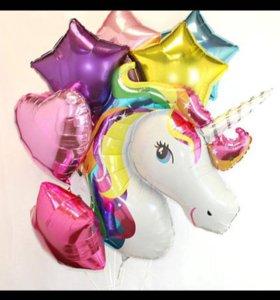 Воздушные , гелиевые шары; оформление ; фигурки