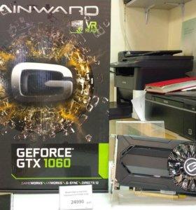 Новая игровая видеокарта Geforce 1060 6gb