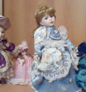 Куклы фарфоровые, коллекционные
