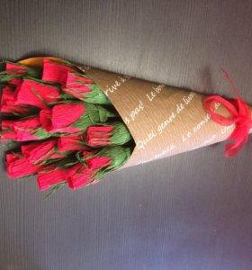 Цветы (букеты) из конфет