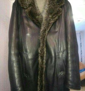 Мужская куртка, полностью натуральная