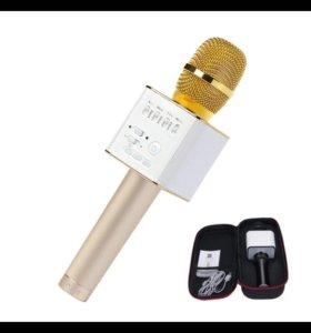 Беспроводной караоке микрофон Bluetooth