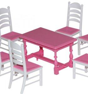 Набор мебели для кукол №6 (7 элементов)