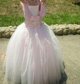 Платье выпускное на девочку 5-7 лет