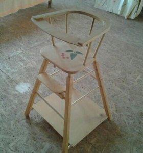 Раскладной стул столик для ребенка