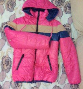 Куртка женская,новая одета пару раз!