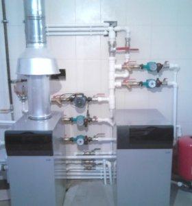 Отопление,водопровод,канализация,стяжка домов