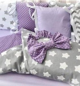 Пошив комплектов в кроватку для малышей
