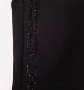 Брюки-штаны утеплённые с блесками 46 размер (L)