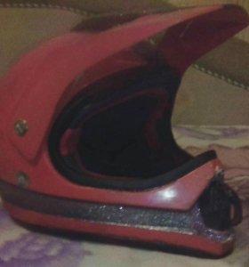 Мотокросовый шлем