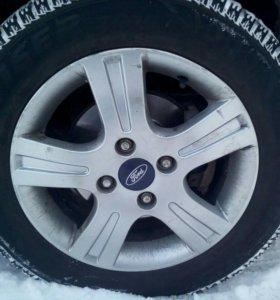 Колеса в сборе форд