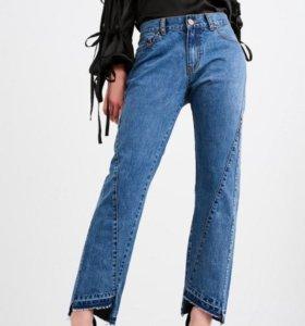 Новые джинсы 42-46р (морковки)