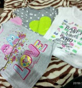 Пакет вещей на девочку 2-5лет