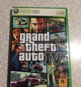 Игры на Xbox Диски на Xbox GTA 4