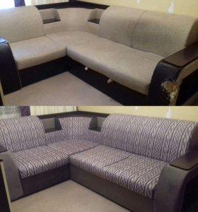 Обшивка и ремонт мягкой мебели
