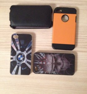 Чехлы и бампера на айфон 4s