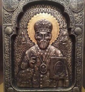 Икона 3д святой Николай Чудотворец