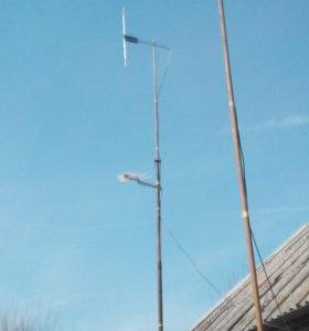 Радио мачта для базы.14 метров телескоп.