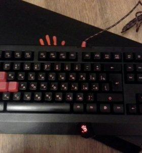 Мембранная клавиатура игровая Bloody B120
