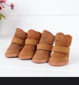 Обувь для собачки