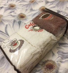 Подарочный набор полотенец новый