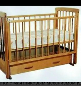 Детская кроватка ,, механизм маятник,,