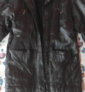 Модная новая Куртка из натуральной кожи.р.48-50.