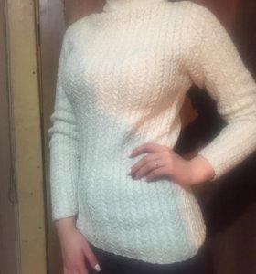 Тёплый вязаный свитер ✨