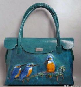 Кожаная сумка автор Ирина Сергеева