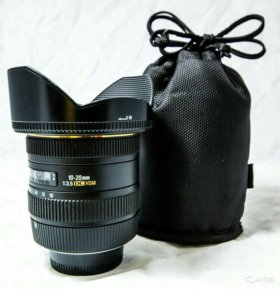 Фотообъектив Sigma AF 10-20mm f/3.5 EX DC HSM
