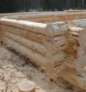 Срубы ручной рубки 10х12х3.2 метров