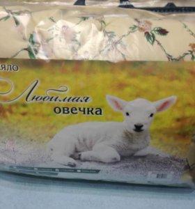 Одеяло, 2сп, овечья шерсть