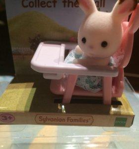 набор Sylvanian Families ( кролик в детском кресле