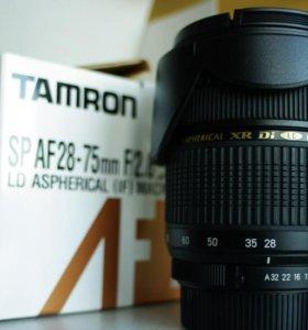 Tamron SP AF 28-75mm f/2.8 XR Di LD Aspherical