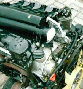 Двигатель на Мерседес М611, 2.2 Турбодизель