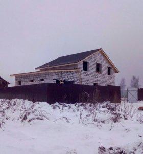 Строительство домов, бань , кровельные работы
