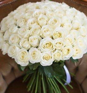 Букет из 101 розы , 401 розы