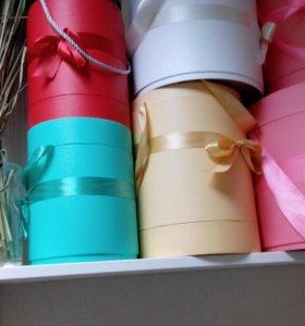 Коробки шляпные для цветов или для чего то