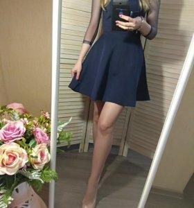 Новые платья (синее и красное)