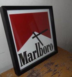 Часы настенные Marlboro